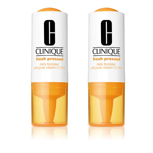 Clinique Fresh Pressed Daily Booster with Pure Vitamin C - Full Size - Lot of 2