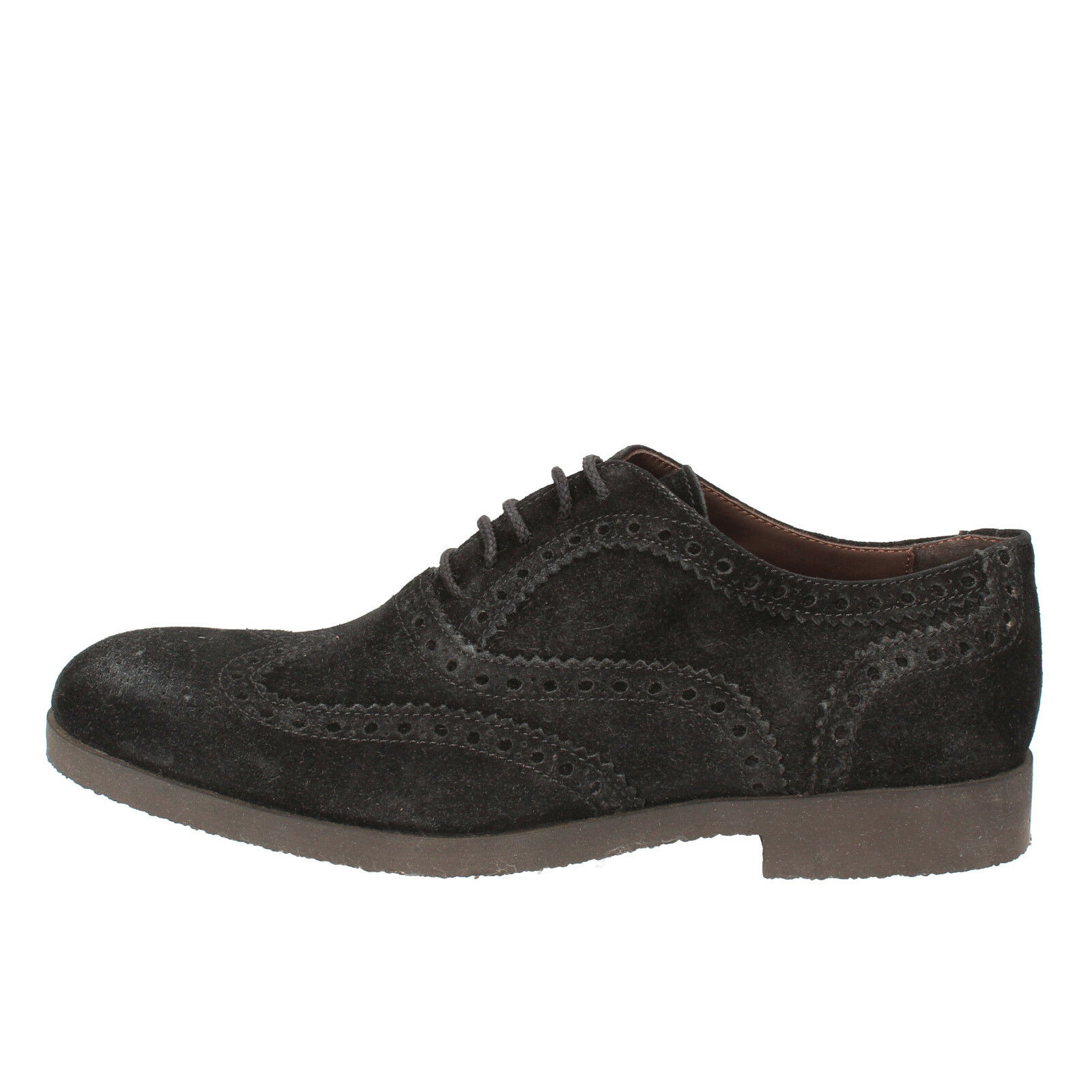 mens shoes TODAY BY CALPIERRE 8,5 () elegant blue suede AD538-B