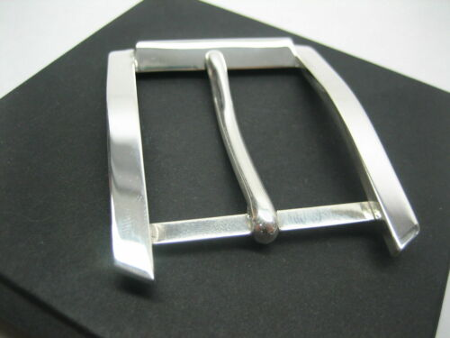 """STERLING SILVER 925 BUCKLE AVAILABLE FOR 1/"""" 1-1//8/"""" 1-1//4/"""" 1-3//8/"""" 1-1//2/"""" BELTS"""
