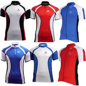 Mens-Cycling-Top-Bike-Shirts-short-sleeve-breathable-cycle-jersey-Medium-38-40