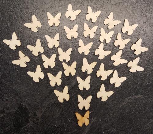 Formas de mariposa para chatarra de reserva de arte o corte de capas láser 20x20mm