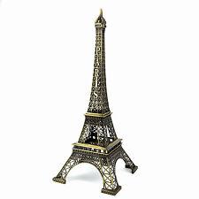 Tour eiffel souvenir de paris couleurs bronze 39 cm TE39B