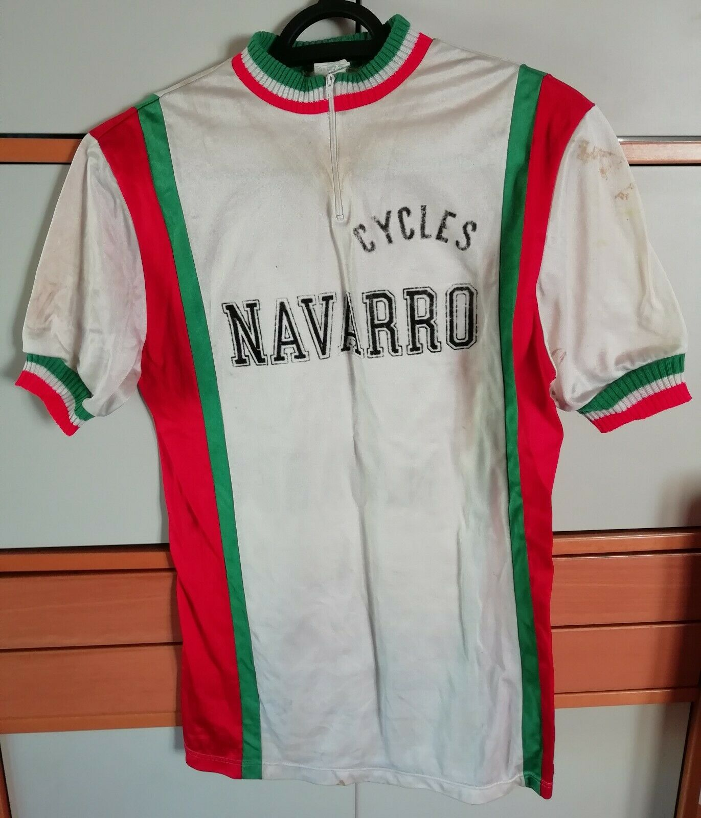 Former Jersey Cyclist Cycles Navarro Size 3 Made in France Super Sport