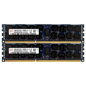 Pc3l-10600-2x16gb-HP-ProLiant-dl320-dl360-dl370-dl380-ml330-ml350-g6-Arbeitsspeicher-RAM