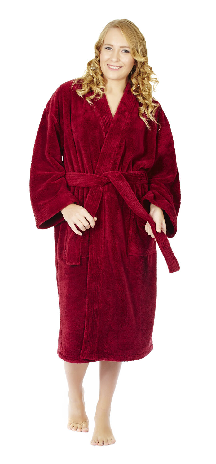 Shop our collection of Women's Robes. Choose our Plush, Spa, Terry, or Hooded Style of Robes. With 8 adult sizes for women, a variety of colors, and an industry best day hassle-free return policy, you'll find the perfect bathrobes for women here.