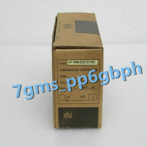 1pc NEW IN BOX SKG Thermostat TREX-CD100 Temperature Controller AT908-D2 CD100