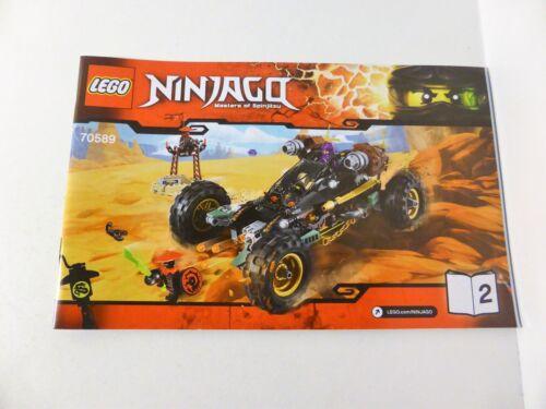 70589 LEGO Rock Roader Ninjago Instruction Manual ONLY