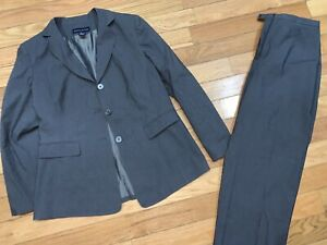 Preston-amp-York-Womens-2-PC-Dress-Suit-Gray-Blazer-and-Dress-Pants-12