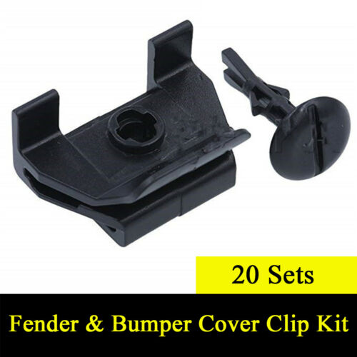 20 Sets Car Front Fender /& Bumper Cover Clip Kit for Toyota Camry Corolla Lexus