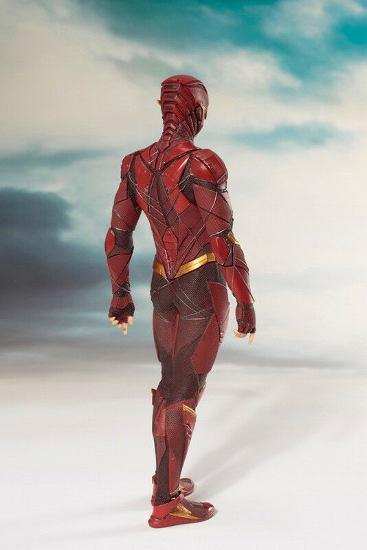 KOTOBUKIYA ARTFX+ JUSTICE LEAGUE 1 1 1 10 FLASH NUOVO ce1110
