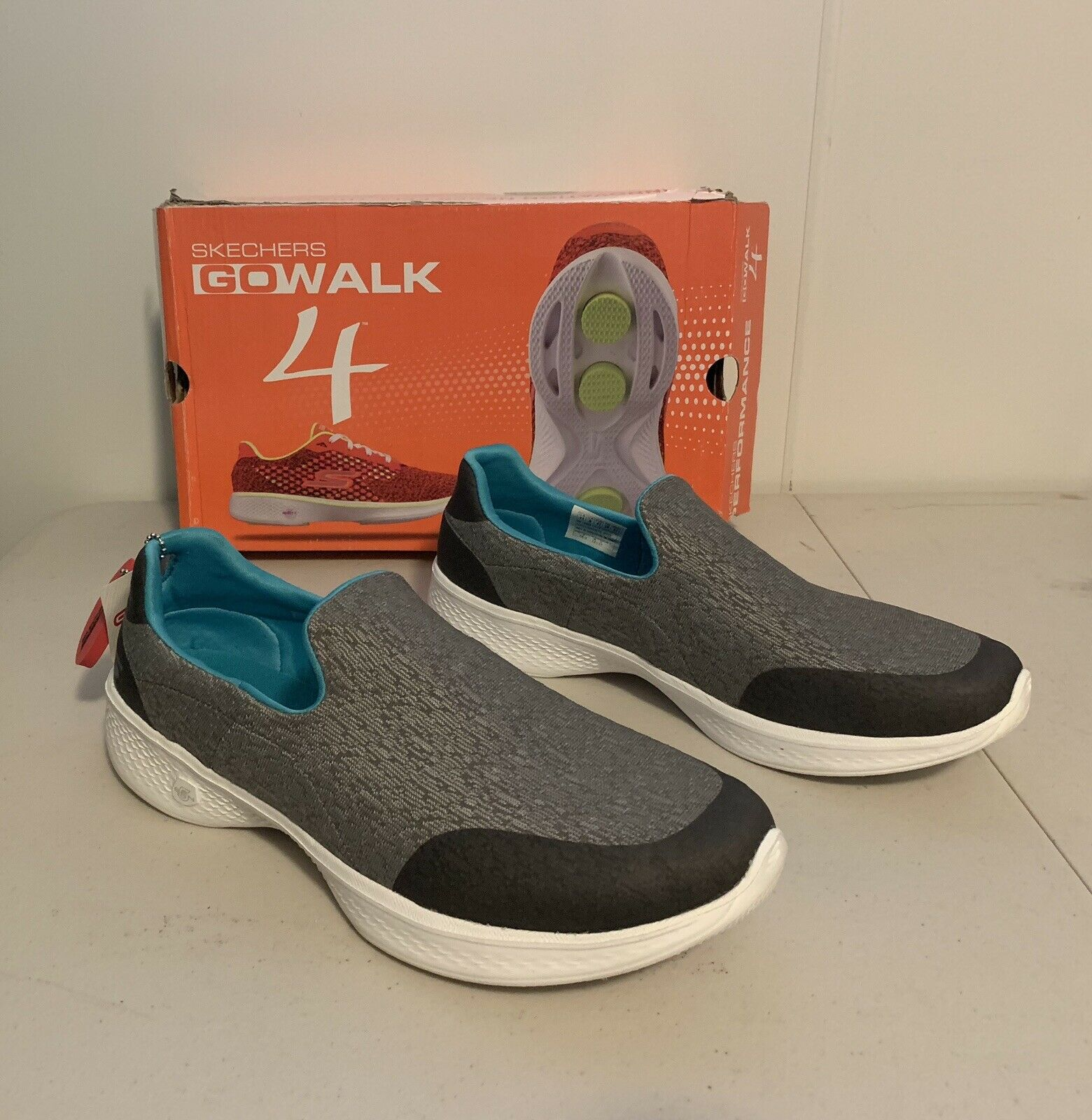 High-Rebound Insole Walking Shoes