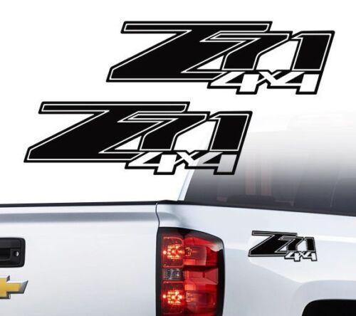 Chevy Z71 4X4 off road truck Silverado Chevrolet Decals Stickers 2