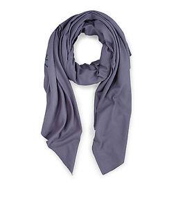 Liebeskind-Berlin-Large-Cotton-Scarf-Blue-Number-Code-Wrap-Oversized-NWOT