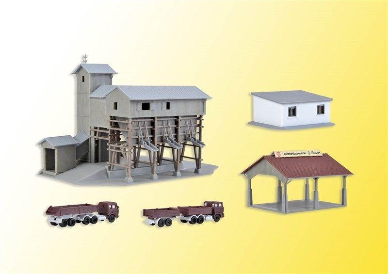 Kibri 36603 scala Z IMPIANTO DI FRANTUMAZIONE STEINER Kit costruzione   NUOVO