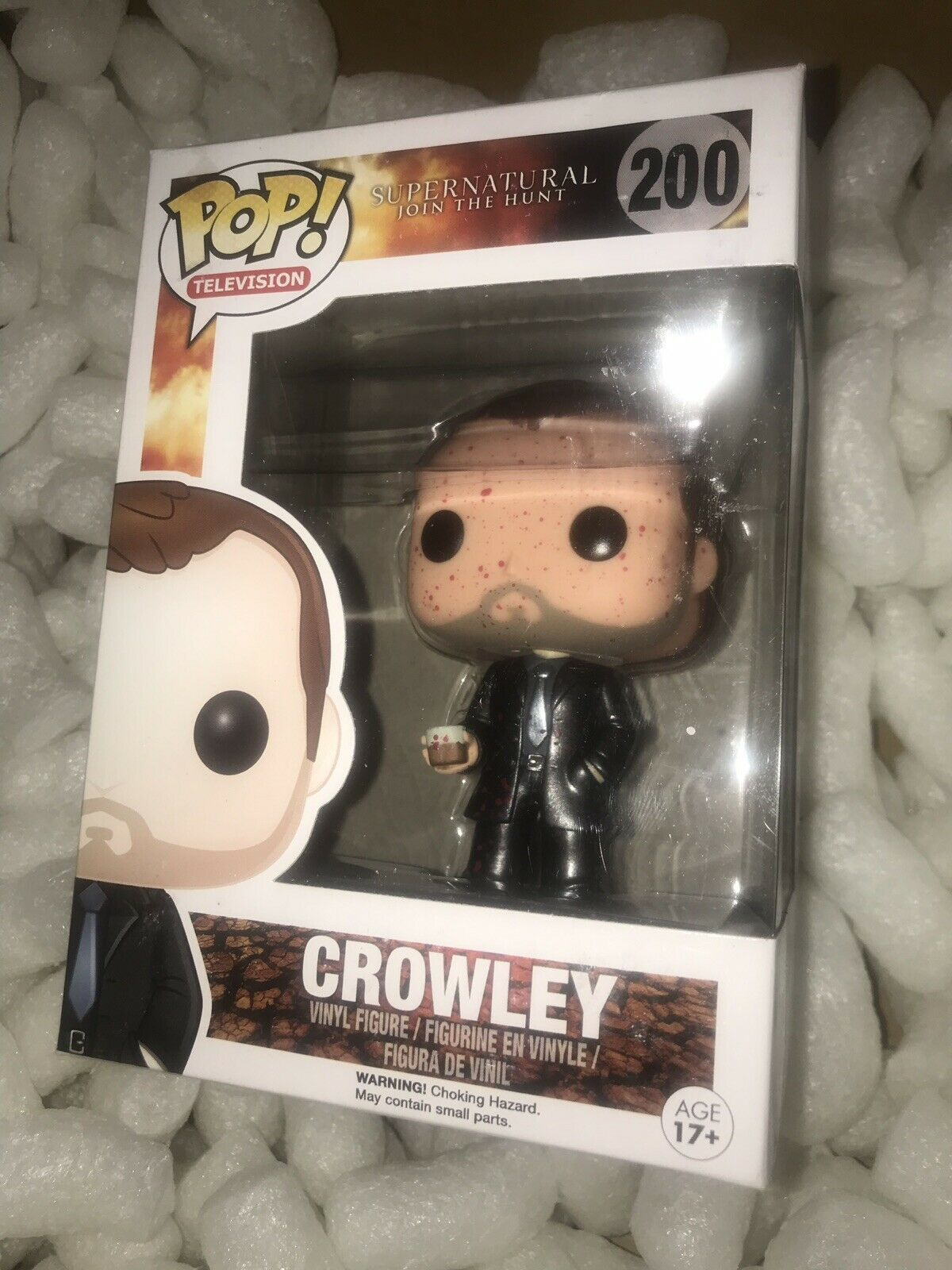 Supernatural Funko Crowley Bloody Metallic