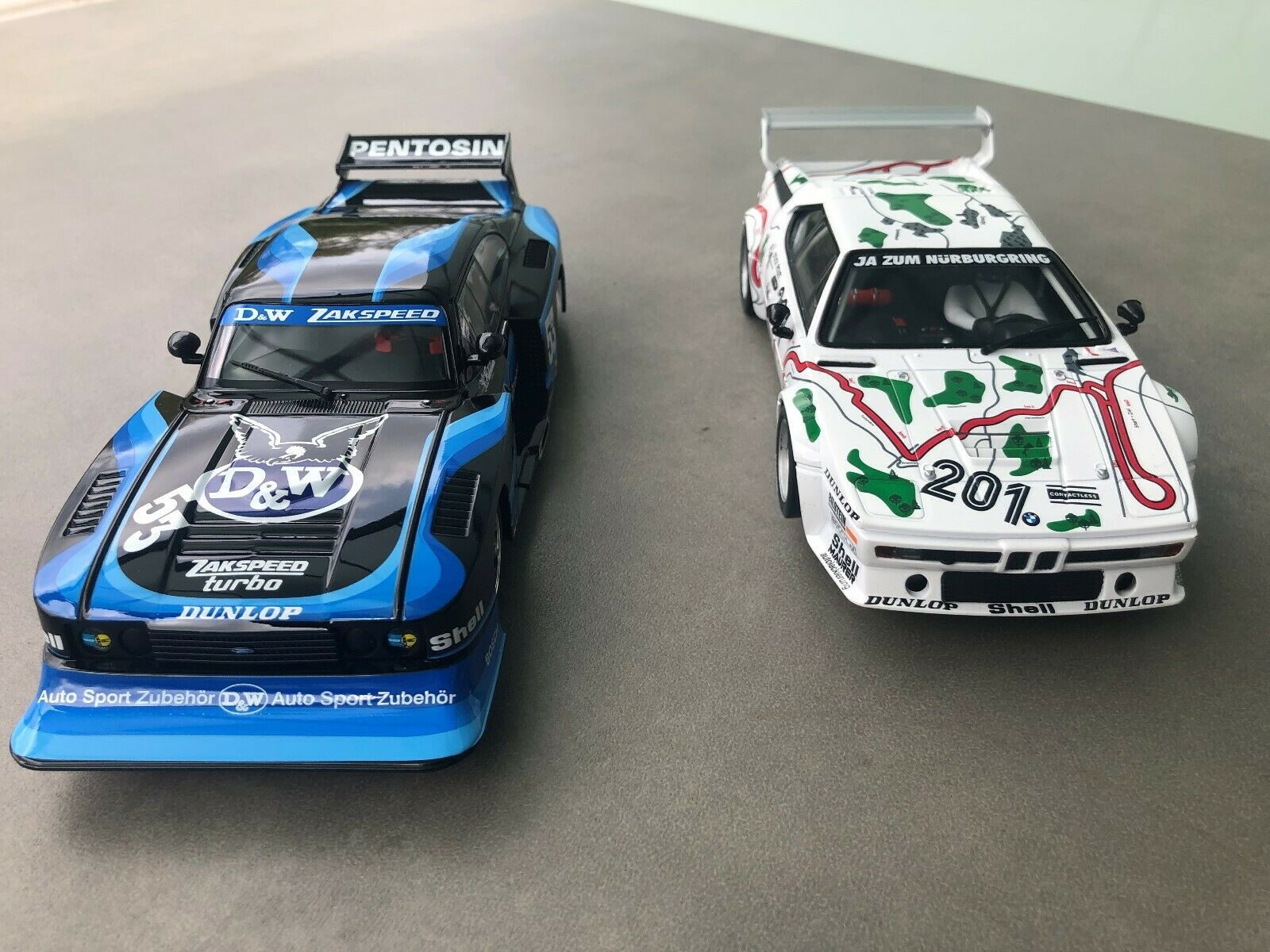 Carrera Digital 124 23859 Ford Capri +23854 BMW M1 Procar Neuf Stp