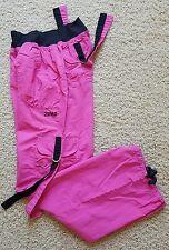 EUC Women's Zumba Wear Workout Cargo Pants Size M  Lightweight Pink
