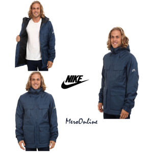 2fe8f1031b0b SZ 2XL Nike SB Empire Snowboarding Hooded Jacket Coat Obsidian ...
