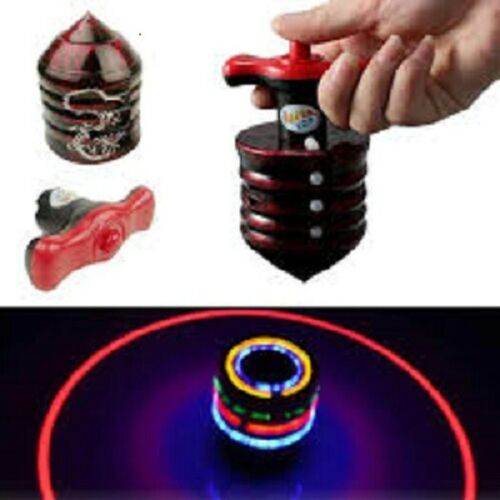 TROTTOLE Bambini Giocattolo Spinner multi-colore giroscopio Luce Flash con la musica Laser