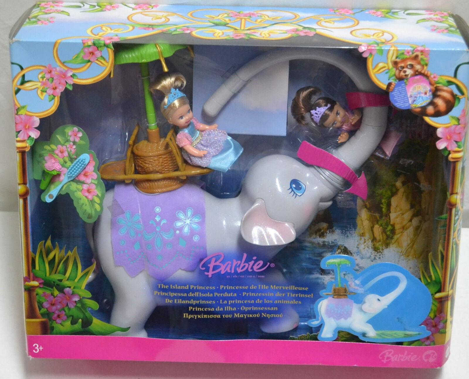 Tika El Elefante –  Barbie Princesa De La Isla mattel
