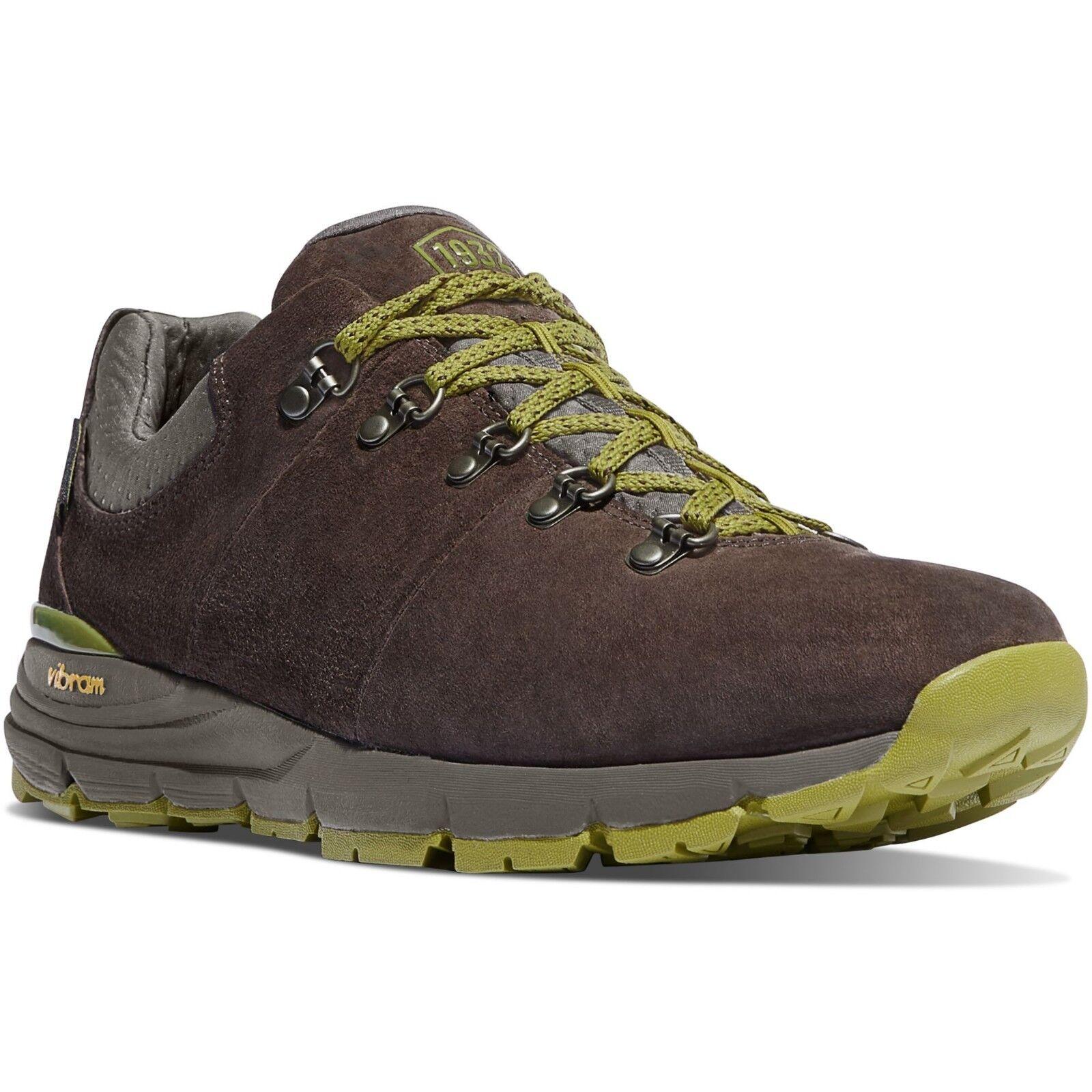 Danner Uomo 62262 Outdoor Mountain 600 Low Dark Marrone 3  Hiking Trail WP stivali