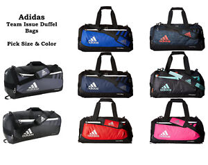 87b9db0d64d5 Image is loading Adidas-Duffel-Bag-Team-Issue-Pick-Size-Color-