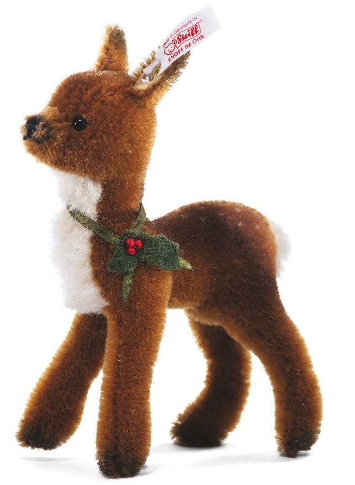 Steiff Mohair CERBIATTO-BABY Deer EAN 036705 Ltd 1500