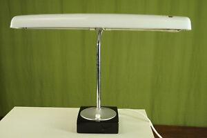 50er Tischlampe Vintage Industrie Design Schreibtisch Lampe Stehlampe 60er