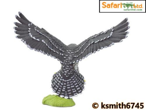 NUOVO * Safari FALCO PELLEGRINO fattoria giocattolo di plastica Pet Hawk Animale Wild Zoo BIRD