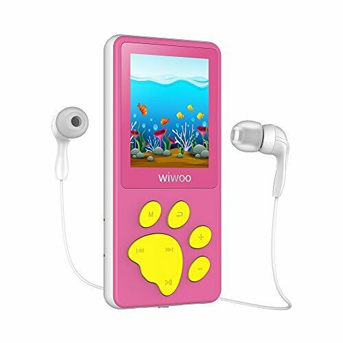 MP3 Player Kinder, Bärenfussdesign MP4 Player 1,8? Bildschirm, MP3 Player  mit