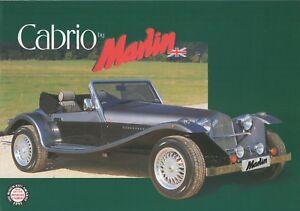 Marlin Cabrio kit car (made in GB) _1997 Prospekt / Brochure - Berlin, Deutschland - Marlin Cabrio kit car (made in GB) _1997 Prospekt / Brochure - Berlin, Deutschland