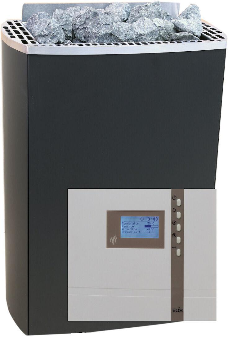 qualità ufficiale Forno Sauna Set Set Set IRON i 9 KW sauna controllo econ d2 con pietre sauna  autentico