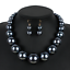 Fashion-Women-Crystal-Bib-Pendant-Choker-Chunky-Statement-Chain-Necklace-Earring thumbnail 150