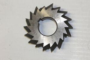 "4 x 1//2 x 1-1//4/"" x 90º HSS Double Angle Milling Cutter"