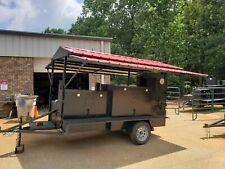 Roof Deep Fryer 2 Basket Sink Setup Bbq Grill Smoker Trailer Food Truck Catering