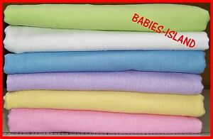 Cotton Fitted Sheet for Cot/Cot Bed/Toddler 40x90 60x120 ...