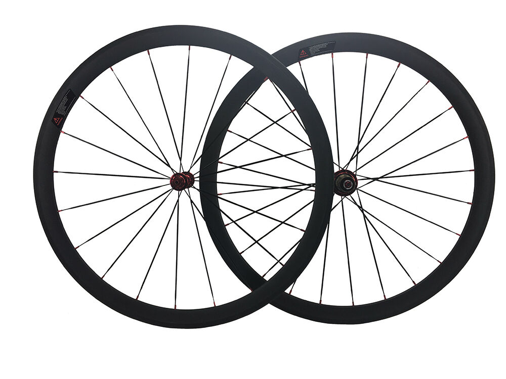 23mm width 38mm Carbon Clincher Road Bike Bicycle Super Light Racing Wheels