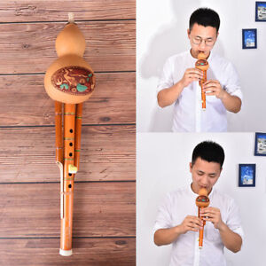 profeesional-chinese-hulusi-gourd-cucurbit-flute-c-key-ethnic-instrum-LD