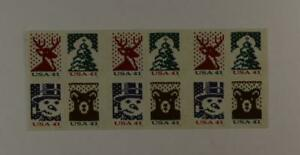 US SCOTT 4210d BOOKLET OF 20 HOLIDAY KNITS STAMPS 41 CENT FACE MNH