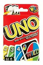 UNO Classic Card Game Matching Colors and Numbers Fun For Family