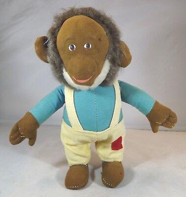 Affidabile Vintage 26cm Merrythought Feltro & Mohair Mr Tortuoso Giocattolo Morbido Scimmia-mostra Il Titolo Originale