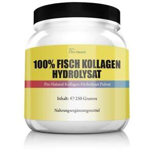 100-Fisch-Kollagen-Hydrolysat-Haut-Bingewebe-Gelenke-amp-Knorpel-Marine-Collagen