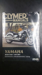 1999-2007 Yamaha XV1700A ROAD STAR Repair Manual Clymer M282-2 Service Shop