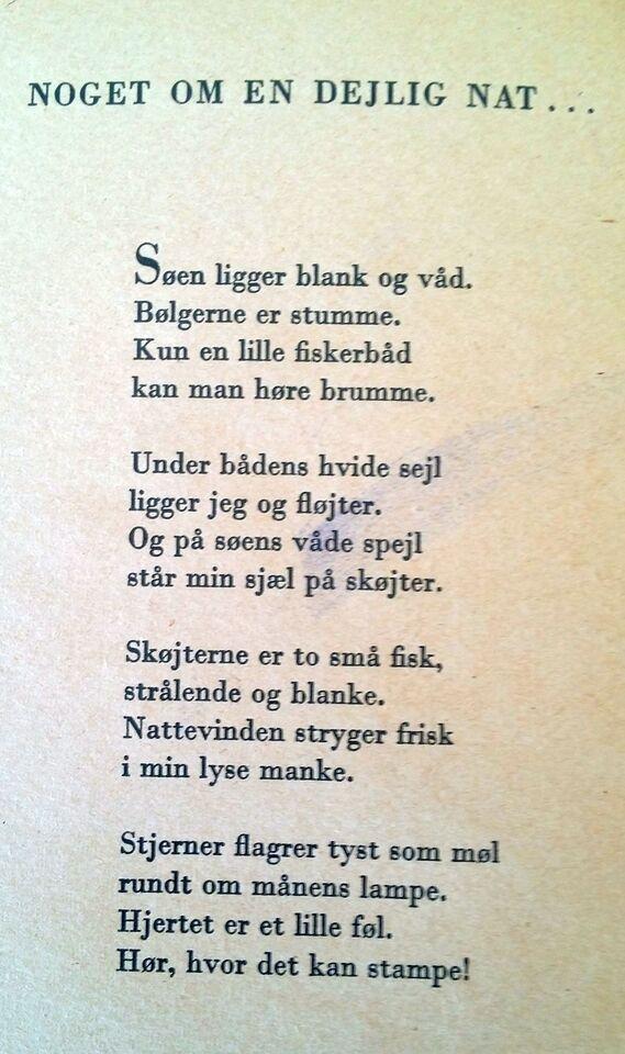 halfdan rasmussen digte