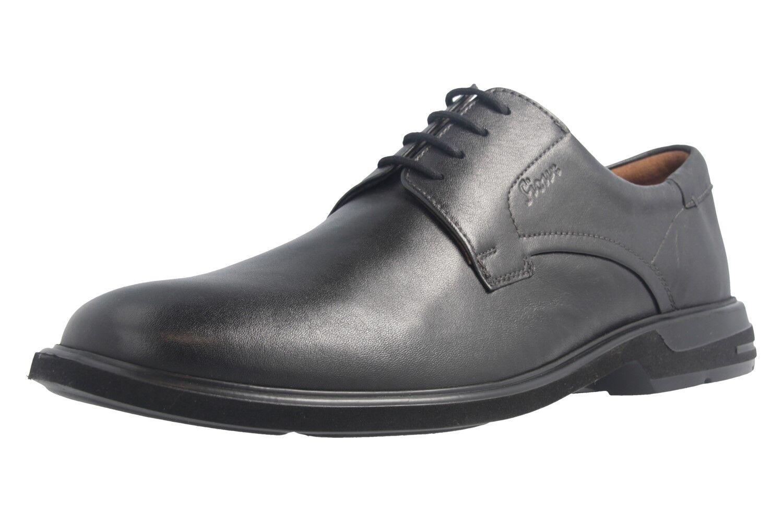 SIOUX -Punjo XL - Herren Halbschuh - Schwarz Schuhe in Übergrößen