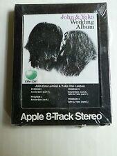 John & Yoko wedding album, Apple 8-Track stereo, John Lennon, Yoko Ono,