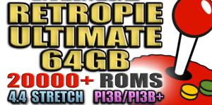 Details about 32GB SD Card RetroPie Plug Play Pi 3 B & 3 B+ 22000+ Classic  Retro Games!