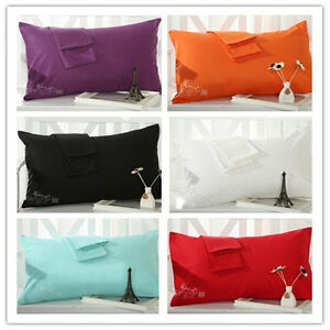 Image is loading 100-Cotton-European-Standard-Pillowcases-Decorative-Couch -Cushion- 30095fb172b4