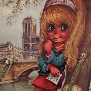 N2078-Poster-Michel-THOMAS-La-Muse-1975-Editions-KRISARTS-Paris-art-deco-PN