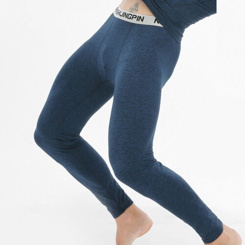 Hommes Hiver Chaud sous-Vêtement Pantalon Caleçon Long Thermique Pyjama